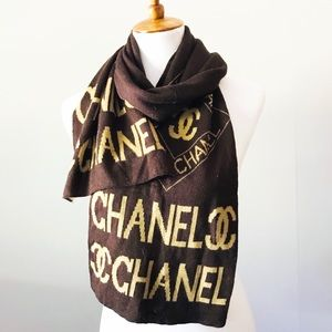 Chanel Cashmere Blend Scarf